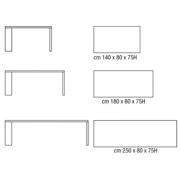 Crocco arredamenti blog archive tavolo horm j table for Horm arredamenti