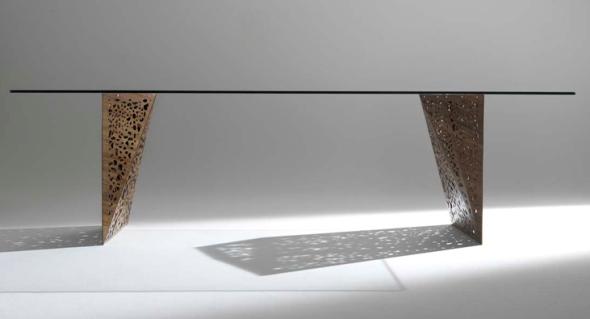Crocco arredamenti blog archive tavolo horm riddled table for Horm arredamenti