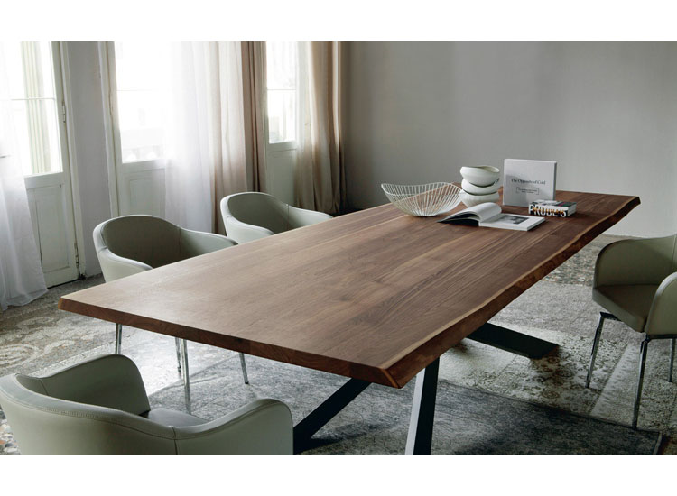Tavolo spyder wood cattelan crocco arredamenti for Rb arredamenti