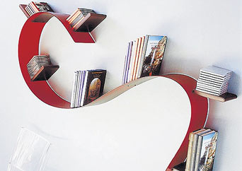 Libreria kartell bookworm