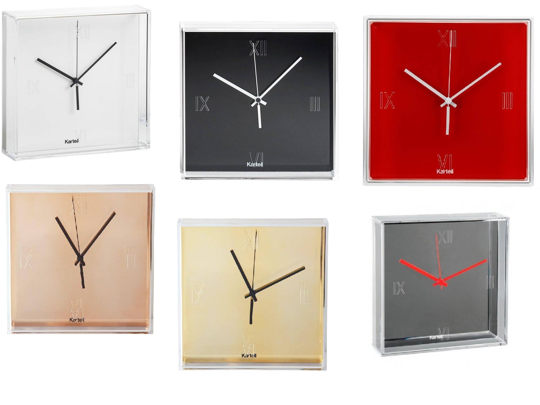 orologio kartell tic tac crocco arredamenti