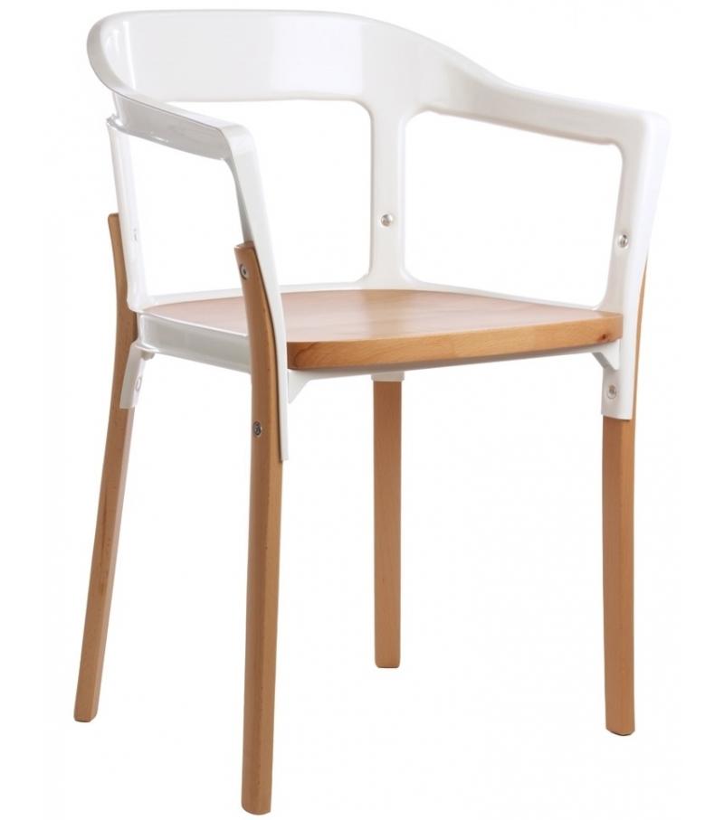 Sedia MAGIS Steelwood Chair