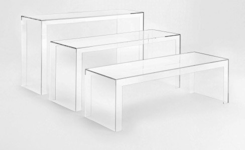 Consolle Invisible Kartell.Invisible Table Tavolo Kartell
