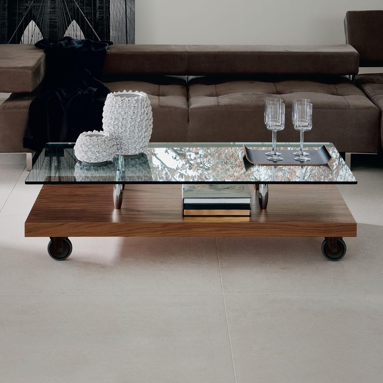 Tavolino Da Salotto Con Rotelle.Tavolino Parsifal Cattelan